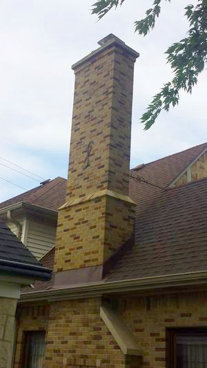 Chimneys in Wauwatosa can be many types of materials