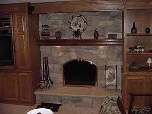 Fireplace Faces smoke stacks | chimney repair waukesha, brookfield, oconomowoc