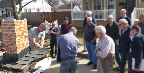 Smoke Stacks teaching home inspectors